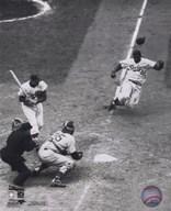 Jackie Robinson - baseball action  Fine Art Print