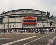 Wrigley Field - Outside/Color