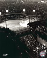 Forbes Field - Night Shot  Fine Art Print