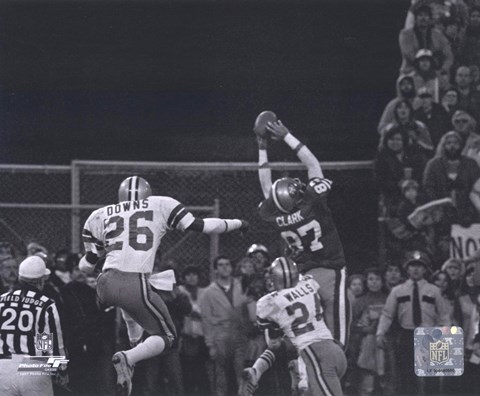 "Framed Dwight Clark - ""The Catch"" Print"