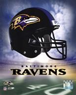 Ravens Helmet Logo ('04)  Fine Art Print