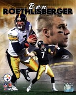 Ben Roethlisberger - Portrait Plus '04 Composite  Fine Art Print