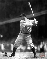 Lou Gehrig - Batting Action Art