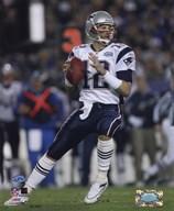 Tom Brady - Super Bowl XXXIX - passing in first quarter  Fine Art Print