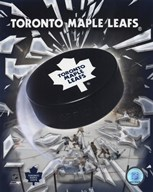 Toronto Maple Leafs 2005 - Logo / Puck Art