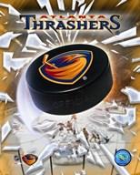 Atlanta Thrashers  2005 - Logo / Puck  Fine Art Print