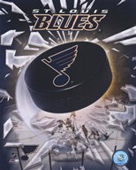 St.Louis Blues 2005 - Logo / Puck