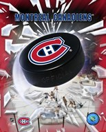 Montreal Canadiens 2005 - Logo / Puck Art