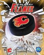 Calgary Flames 2005 - Logo / Puck  Fine Art Print