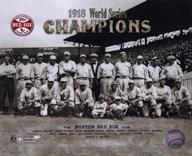 1918 Red Sox World Series Champions  Fine Art Print