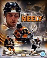 Cam Neely - Legends Composite  Fine Art Print