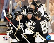 Sidney Crosby - 1st Goal / Celebration