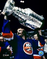 Bobby Nystrom - With Stanley Cup  Fine Art Print