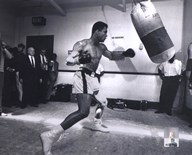 Muhammad Ali - heavy bag