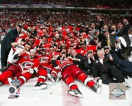 Hurricanes - 2006  Celebration on Ice Game 7 Stanley Cup Finals Art