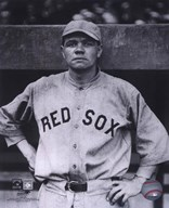 Babe Ruth - Close Up (Red Sox)