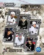 '06 / '07 Ducks Team Composite  Fine Art Print