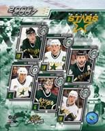 '06 / '07 - Stars Team Composite  Fine Art Print
