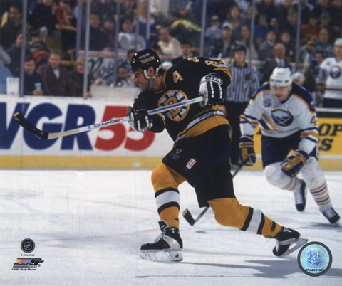 Framed Cam Neely - Action Print