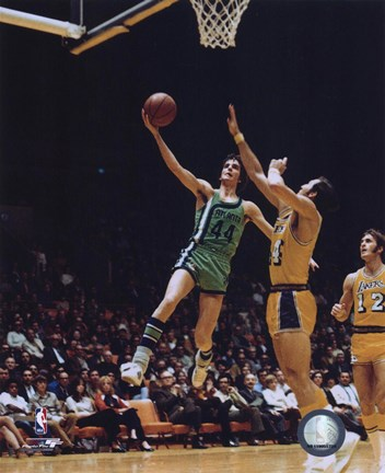 Framed Pete Maravich - 1971 Action Print