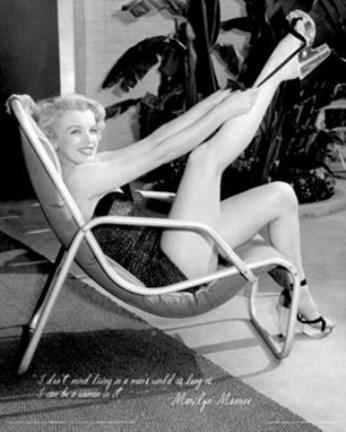 Marilyn Monroe Hollywood 1952 Framed Art Print Poster And ...