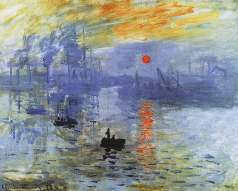 Impression Sunrise C 1872 Fine Art Print By Claude Monet