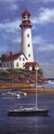 Lighthouse Shoals I  Fine Art Print