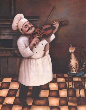 Chef I Fine Art Print By T C Chiu At Fulcrumgallery Com