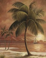 Island Palm I Art