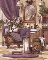 Victorian Bathroom II Art