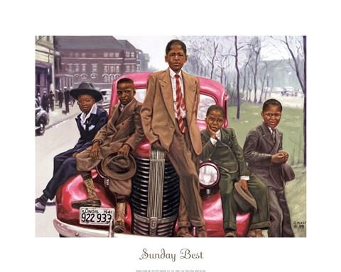 Sunday Best Fine Art Print By Gregory Myrick At