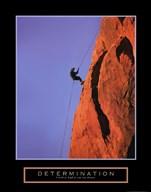 Determination - Climber  Fine Art Print