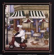 Dante's Ristorante  Fine Art Print