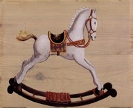 White Rocking Horse