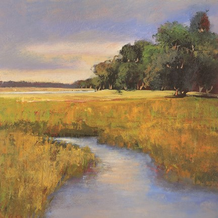 Framed Low Country Landscape II Print