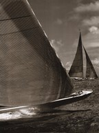 Sepia Sails I Art