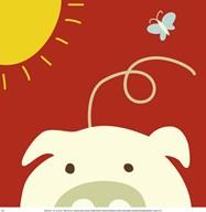 Peek-A-Boo IV Pig Art