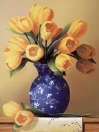 Yellow Tulips Art