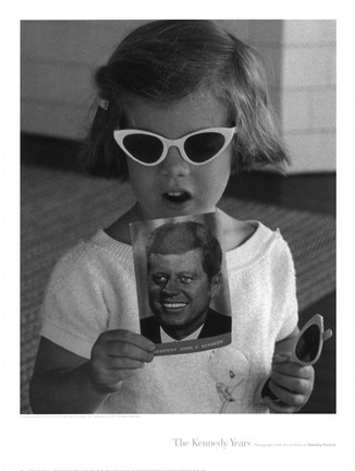 Framed Caroline Sunglasses, 1961 Print