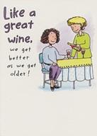 Birthday Like a great wine Art