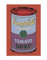 Campbell's Soup Can, 1965 (blue & purple)