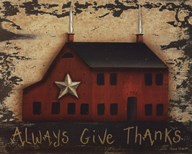 Always GiveThanks Art