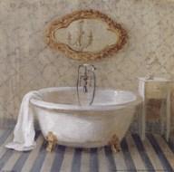 Victorian Bath II Art