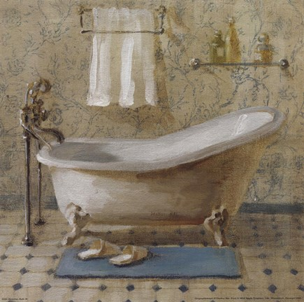 Victorian Bath Iii Fine Art Print By Danhui Nai At