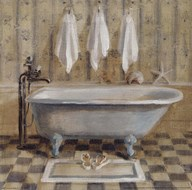 Victorian Bath IV Art