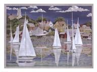 Captain's Harbor  Fine Art Print