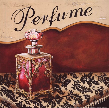 Framed Perfume - Mini Print