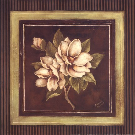 Framed Magnolia I - Mini Print