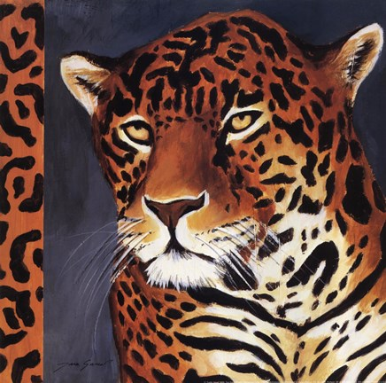 Framed Exotic Jaguar - Mini Print