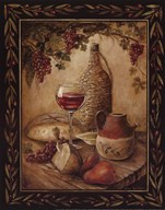 Tuscan Table - Chianti - Mini Art